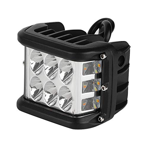 Senyar Work Light,45W Car LED Universal Working Light Bar Auto Driving Lamp for Off-road Vehicle(Black)