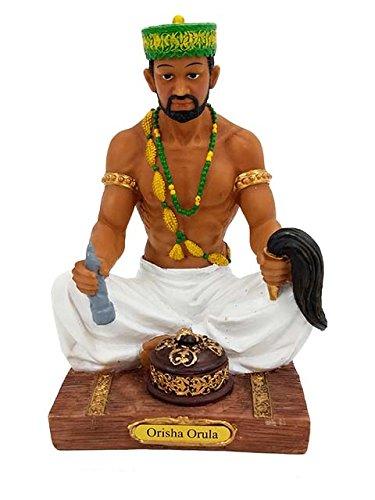 7 Orisha Orula Statue Yoruba Santeria Lucumi African God Figure