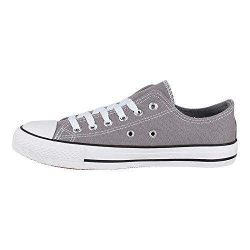 36 für Basic Textil Elara Bequeme Unisex Größer Dk Fällt Turnschuh Eine grey Schuhe Nummer 46 Low Aus Sneaker Damen Top Sportschuhe Herren und ISOgwqKSr