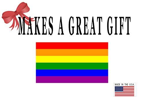 Sticker Graphic Bumper Window Sicker Decal Equality Pride Universe Gay Pride Sticker Chili Print