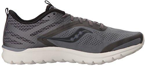 Mens Da Uomo Liteform Miles Running Shoe Grigio