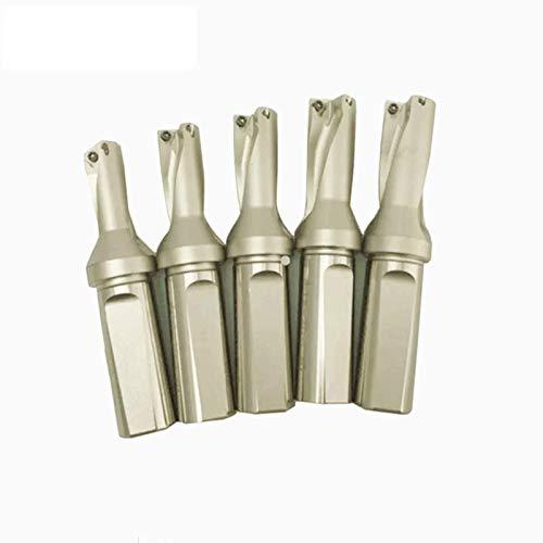 1P C25-4D20 WC03 CNC Tornio Utensile Tipo U Punta indicabile per WCMX 030208 inserto in carburo