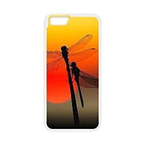 "Custom Colorful Case for Iphone6 Plus 5.5"", Dragonfly Cover Case - HL-R668730"