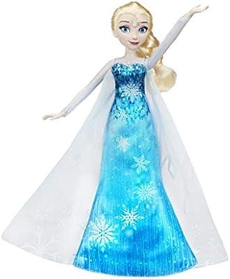Disney La Reine Des Neiges Poupee Princesse Disney Elsa Robe Musicale Version Francaise 30 Cm Exclusivite Amazon Amazon Fr Jeux Et Jouets