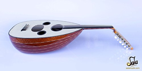Arabic Professional Electric Oud Ud String Instrument AAOK-301G by SALA