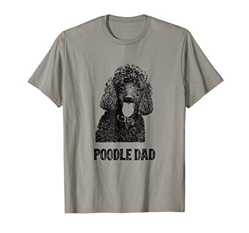 Mens Poodle Dad Shirt - Standard Poodle Dad T-Shirt
