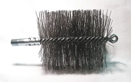 (Flue Brush, Dia 4, 1/4 MNPT, Length)