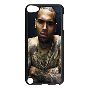 Chris Brown ipod 5 Case Customized Hard Plastic Cover Case fits iPod Touch 5th ipod5-linda735
