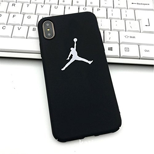 Air Jordan iPhone X funda Cover Carcasa y fundas Supreme Jordan (nero) nero