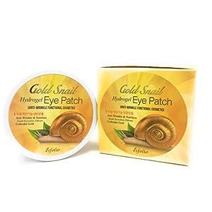 Gold Snail Hydrogel Eye Patch Anti-Wrinkle & Nutrition by Esfolio (60 PCS)