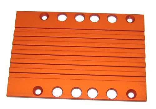 T-Maxx and E-Maxx Orange Anodized Transmission Cover