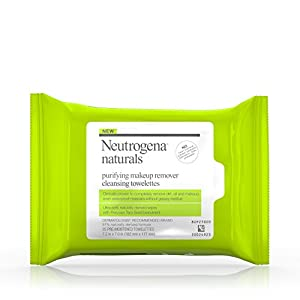 Neutrogena Naturals Purifying Makeup Remover Cleansing Towelettes, 25 Sheets