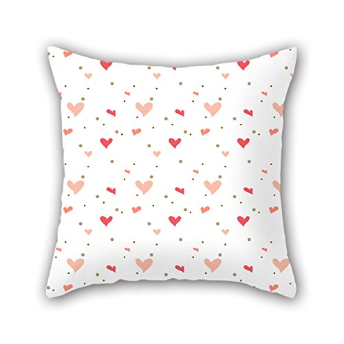 PILLO Love Pillowcase 20 X 20 Inches / 50 By 50 Cm For Teens Girls,couples,teens,lover,couch,monther With Both Sides