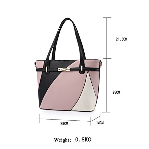 Leather Women Bag Bags Handbags Capacity Fashion Purple Dark Large Crossbody Tote Shoulder For Bags Bag Women Pu 16wxwd7qC