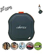 Tkstar mini GPS Tracker – impermeabile GSM AGPS Tracking Posizione in tempo reale per auto, bici, moto, bambini, animali, cane, cani TK1000