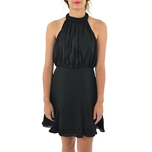 C / Meo Nuits Décoloration Mini Robe En Noir (moyen, Noir)