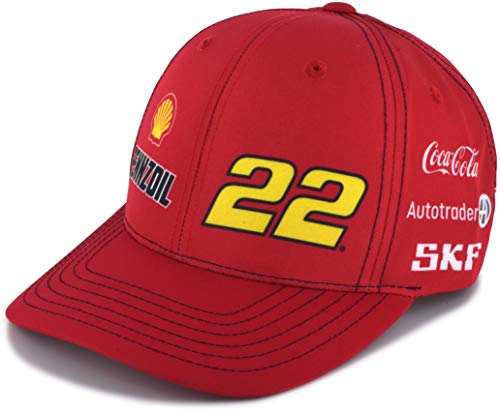 Checkered Flag Joey Logano 2019 Shell Pennzoil Uniform NASCAR Hat Red