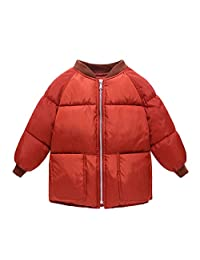 Roffatide Boys Girls Winter Coat Lightweight Packable Down Jacket Thick Clothes