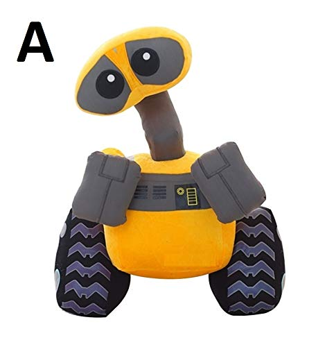 PAPRING Wall-E Toys 9/11 inch EVE Robot Cartoon Pixar Big Plush Toy Large Stuffed Gift Collectable Christmas Halloween Birthday Gifts Cute Doll Collectibles New Decoration Collectible for Kids (2 -