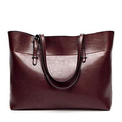 Amazon.com: FGJLLOGJGSO Hot Women Shoulder Bag PU Leather ...