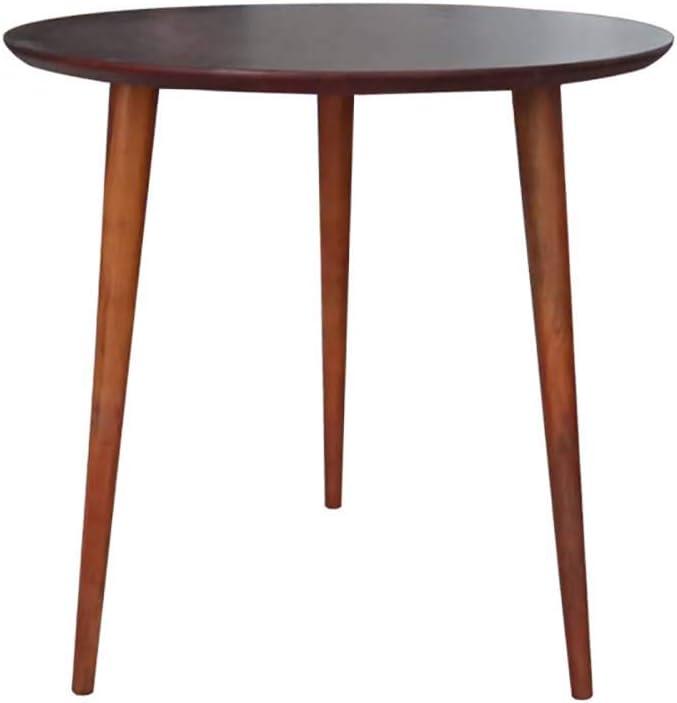100% Authentiek LUUDE massief houten ronde tafel, bijzettafel kleine salontafel nachtkastje voor kantoor lounge eetkeuken Style14 RHr6qDS