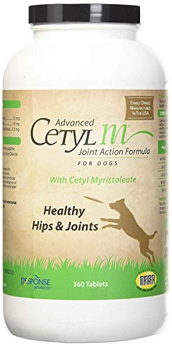 Advanced Cetyl M Dog Joint Action Tablets 360 Count