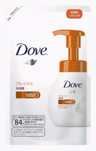 Unilever Japan Dove   Facial Cleansing   Go Fresh Bubble Face Wash Refill 130Ml