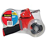 Scotch® Packaging Tape 3850-2ST, 1.88 Inches x 54.6 Yards, 2-Pack