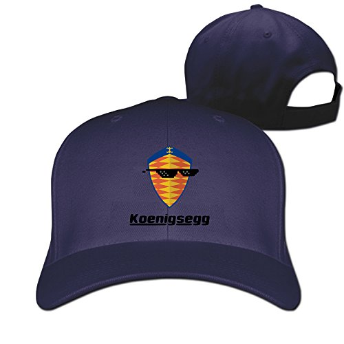 Logon 8 Fashion Sunglass With Koenigsegg Car Logo Hiphop Cap One Size Navy You - Sunglasses Oxygen