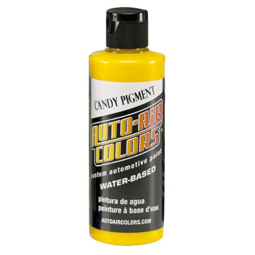 Createx 4 oz Airbrush Candy Pigment Paint Color: Yellow