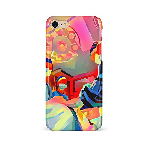 Westlake Art - Surgery Surgeon - Phone Case Cover - Snap On Slim Fit Protector Modern Abstract Artwork Birthday Gift - iPhone 7/8 (F377-05A1B)