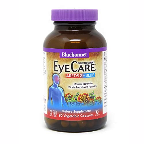 - Bluebonnet Nutrition Targeted Choice Eye Care Areds 2, Blue, 90 Count