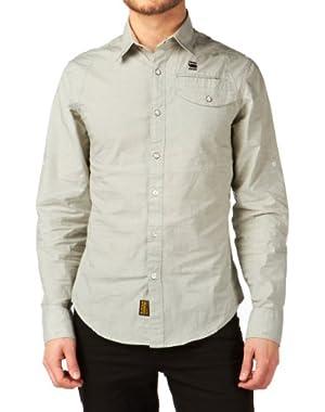 G Star RAW Dress Shirt L/S, Sage, Size L $130