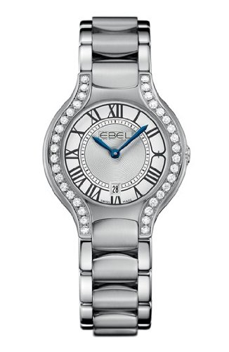 Ebel Beluga Silver Dial Stainless Steel Ladies Watch