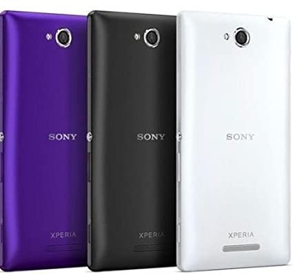 meet ecedd 745e3 Battery Door Back Panel Case Cover for Sony Xperia C: Amazon.in ...