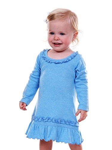 Kavio! Infants Sunflower Long Sleeve Dress