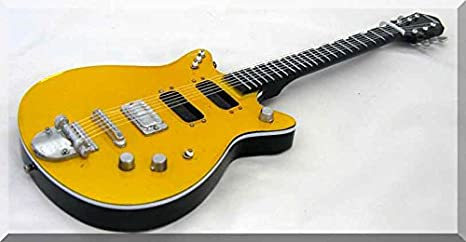 Malcolm Young Guitarra en miniatura Jet Firebird AC/DC: Amazon.es ...