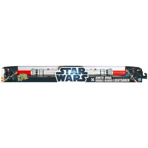 Star Wars Darth Maul Double-Bladed Lightsaber Toy by Star Wars (Image #1)