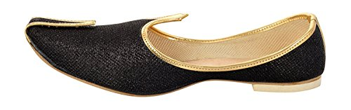 Indian Dress BACHCHAN Shoes Majori Punjabi Khussa Wedding Jutti Men's BombayFlow XqKxUCwavg