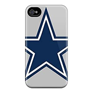 Ifans Fashion Protective Dallas Cowboys Case Cover For Iphone 4/4s Kimberly Kurzendoerfer