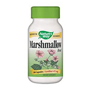 Amazon.com: Nature's Way Marshmallow Root 480mg 100 caps