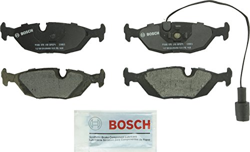 Bosch BP279 QuietCast Premium Semi-Metallic Disc Brake Pad Set For Select BMW (i, is, e, es, iX, td, CSi,),325, 318, 325, 524, 528, 533, 535, 633, 635, 735i, L6, L7, M5, M6; Rear ()