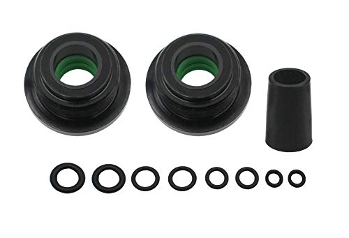 Seal Kit replace the model#HS5157 fit for pivot front Mount Steering Cylinder compatible for HC5340, HC5341-HC5348 HC5358 HC5365 HC5375 HC5394 HC5445 HC6750-HC6755 Without Wrench.