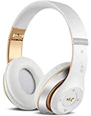 6S Wireless Headphones Over Ear,Hi-Fi Stereo Foldable Wireless Stereo Headsets Earbuds with Built-in Mic, Micro SD/TF, FM for iPhone/Samsung/iPad/PC