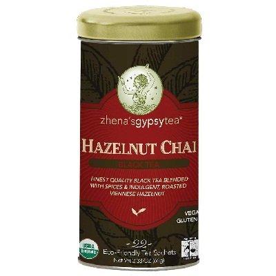 Zhena's Gypsy Tea Og2 Zgt Hzlnt Chai Black 22.00 BAG(Pack of 6)