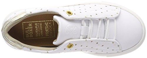 BULLBOXER Mädchen Aic002e5l Sneaker Weiß (White)
