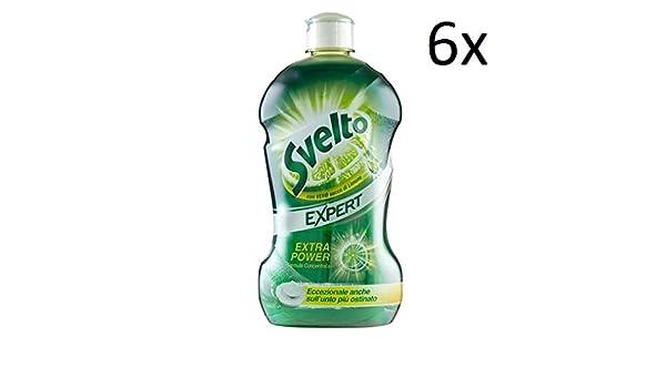 Svelto 6 x Expert Extra de Power Concentrado líquido lavavajillas ...