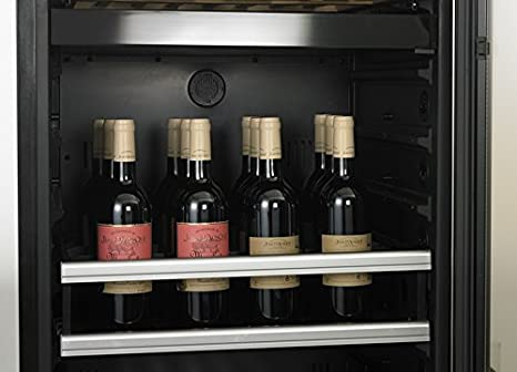 Dometic MaCave S118G Independiente Nevera de vino Negro, Acero ...
