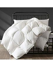 APSMILE Luxurious Ultra-Soft Pima Cotton Goose Down Comforter