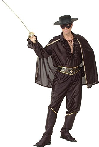 Super Deluxe Zorro Costumes - Bristol Novelty Fancy Party Dress Super